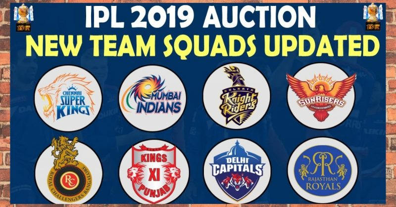 IPL-2019-teams-and-players-list